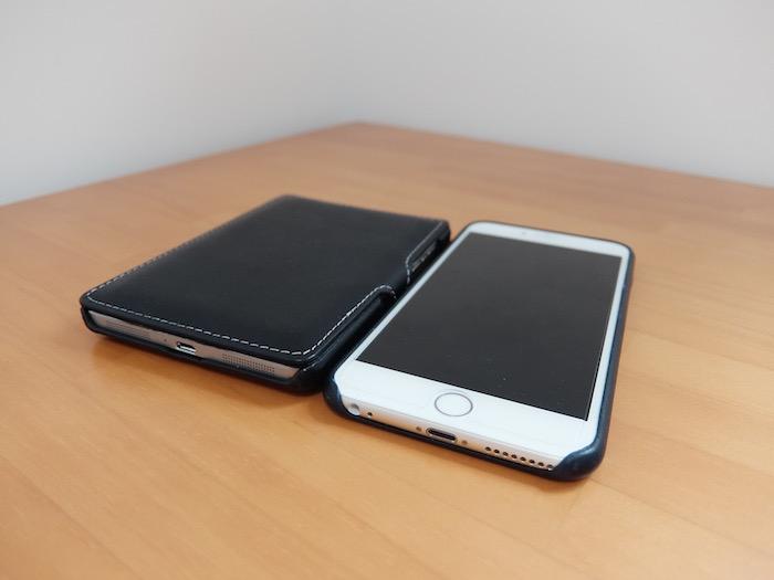 iPhone 6 Plusと並べて
