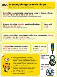 855 - Myeongdong Cosmetic Shops