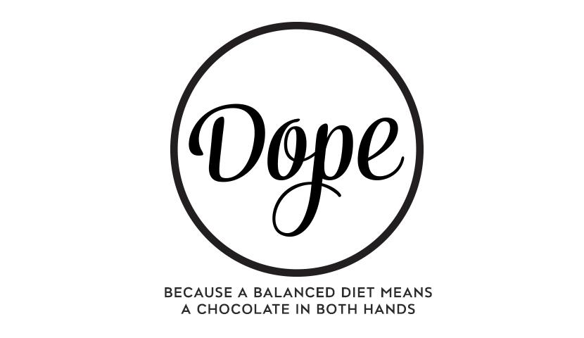 Dope Chocolate - Branding & Package Design
