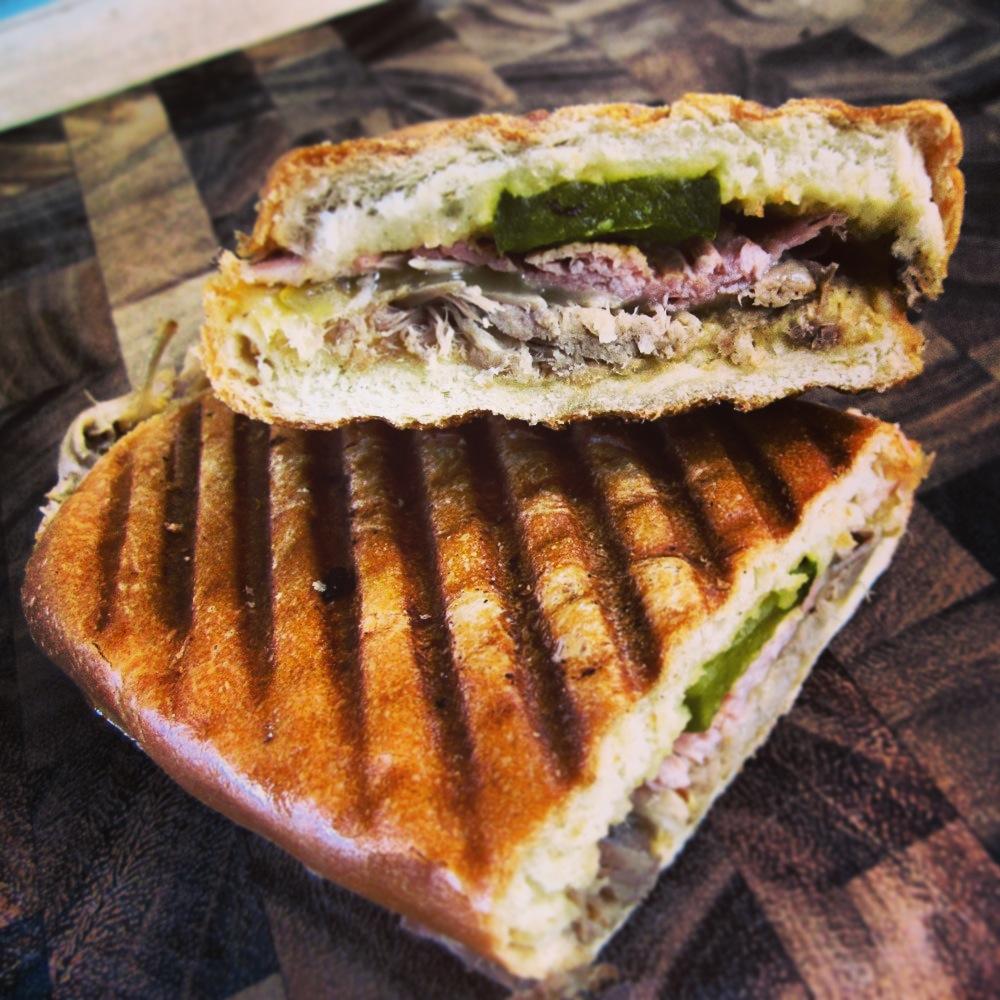 White apron sandwiches dc menu - The A M Cubano