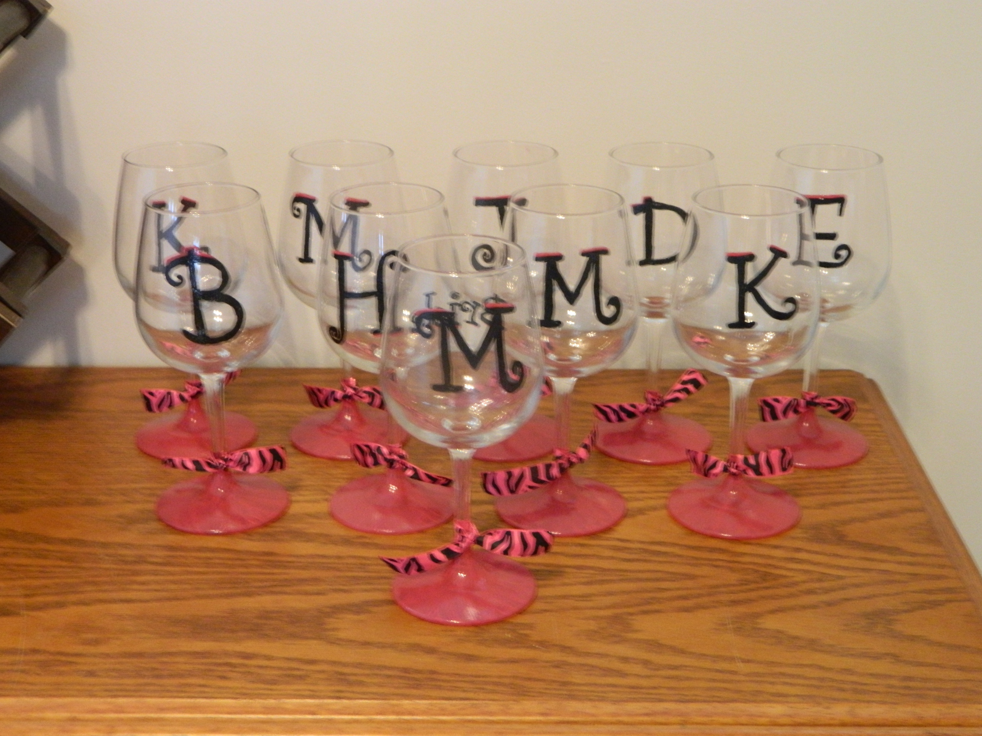 Diy hand painted wine glasses and shot glasses eat Images of painted wine glasses