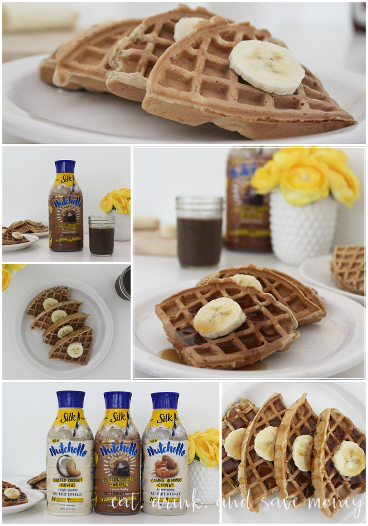 waffles pair perfectly with the NEW Silk Nutchello Rich Dark Chocolate ...