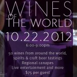 "Gracie's ""Wines of the World"" Returns on Monday, October 22, 2012"