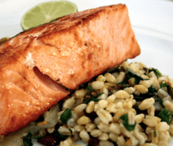 Delicatessen salmon filet