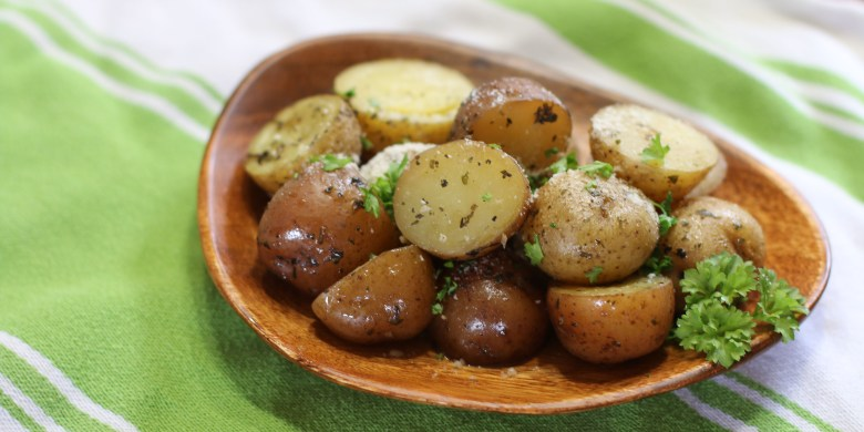 Parmesan Garlic Potatoes