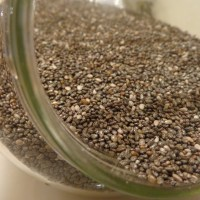 chia seeds in cereal