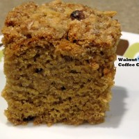 whole wheat walnut 'n' spice coffee cake