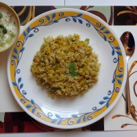 spicy cabbage brown rice