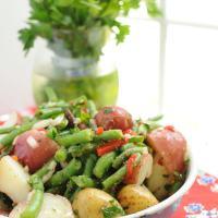 Green Bean and New Potato Salad