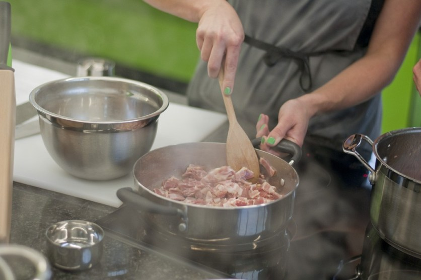 Bacon Masterclass this summer - photo from Gastronomical Heights by James Woollerton