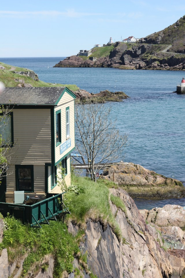 A house on the Battery in St John's, Newfoundland