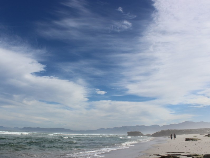 The beach by Grootbos in Overberg