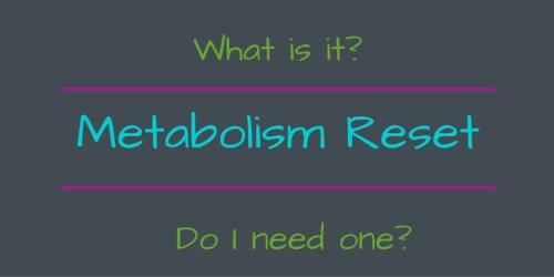 Metabolism Reset Graphic