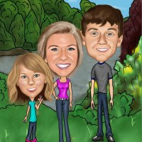 Cool Gift Idea: Custom Caricature From Caricature Kingdom #sponsored @PictoCartoon