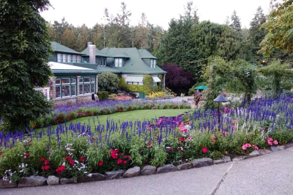 Butchart Gardens and Butterfly Gardens Review