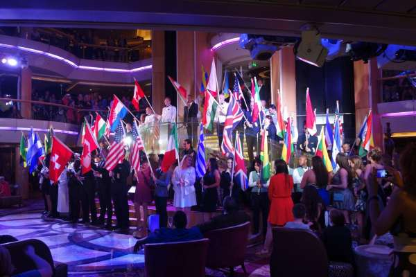 Parade Flags Enchantment of the Seas Review