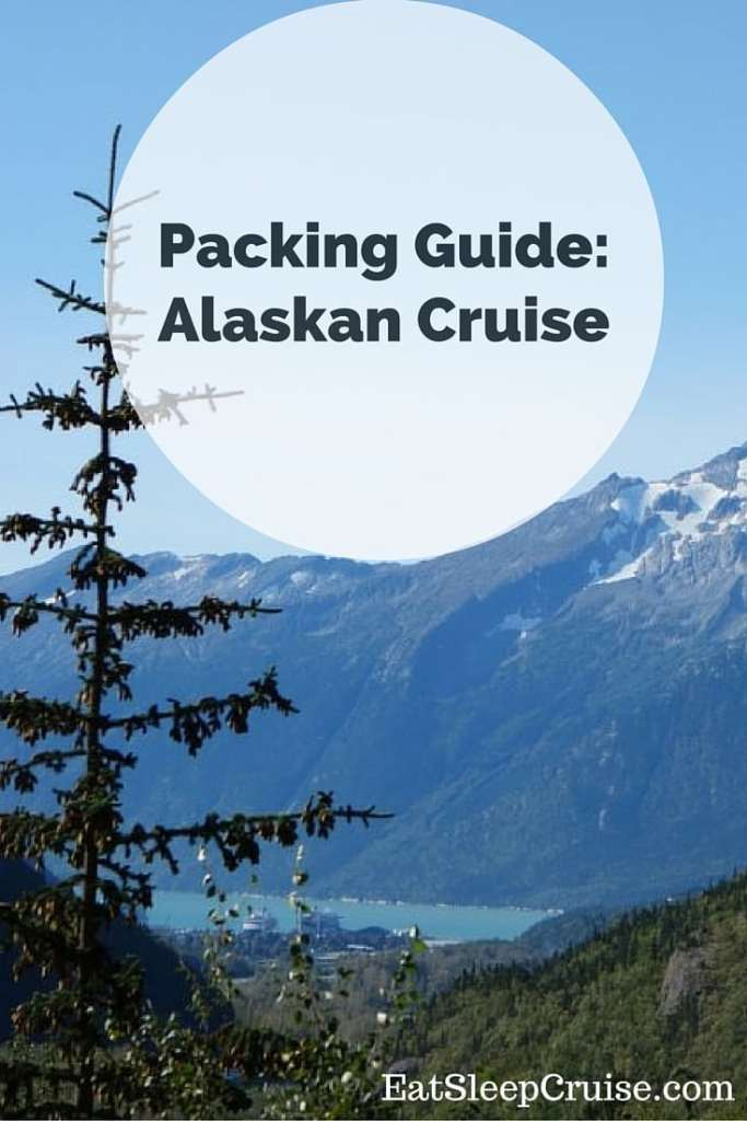 This is an image of Agile Printable Packing List for Alaska Cruise