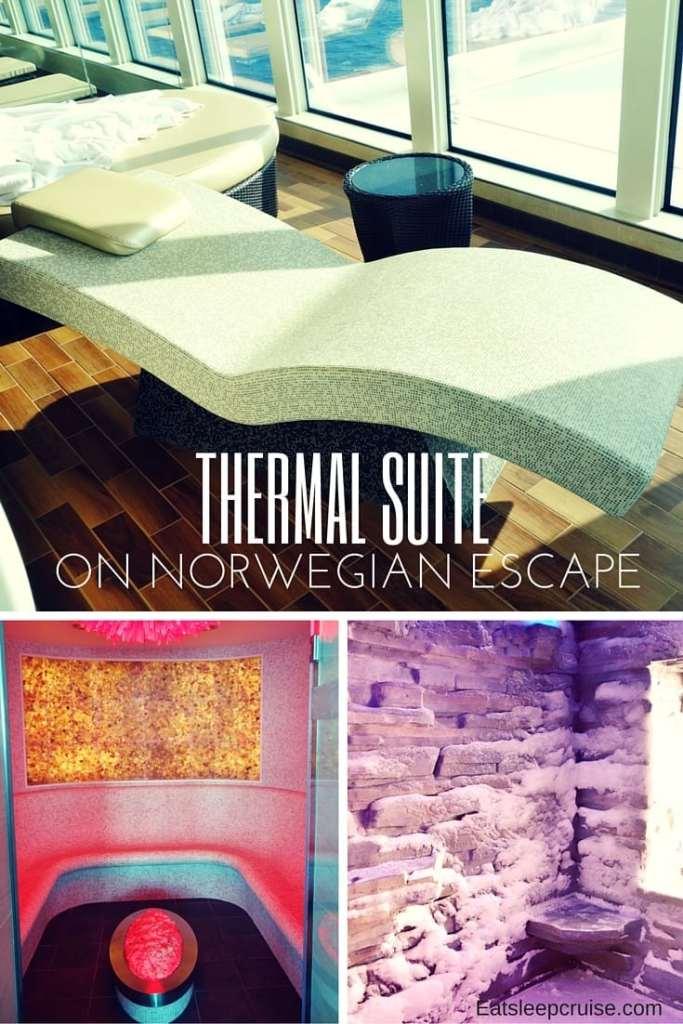 Review Thermal Suite On Norwegian Escape Eatsleepcruise Com