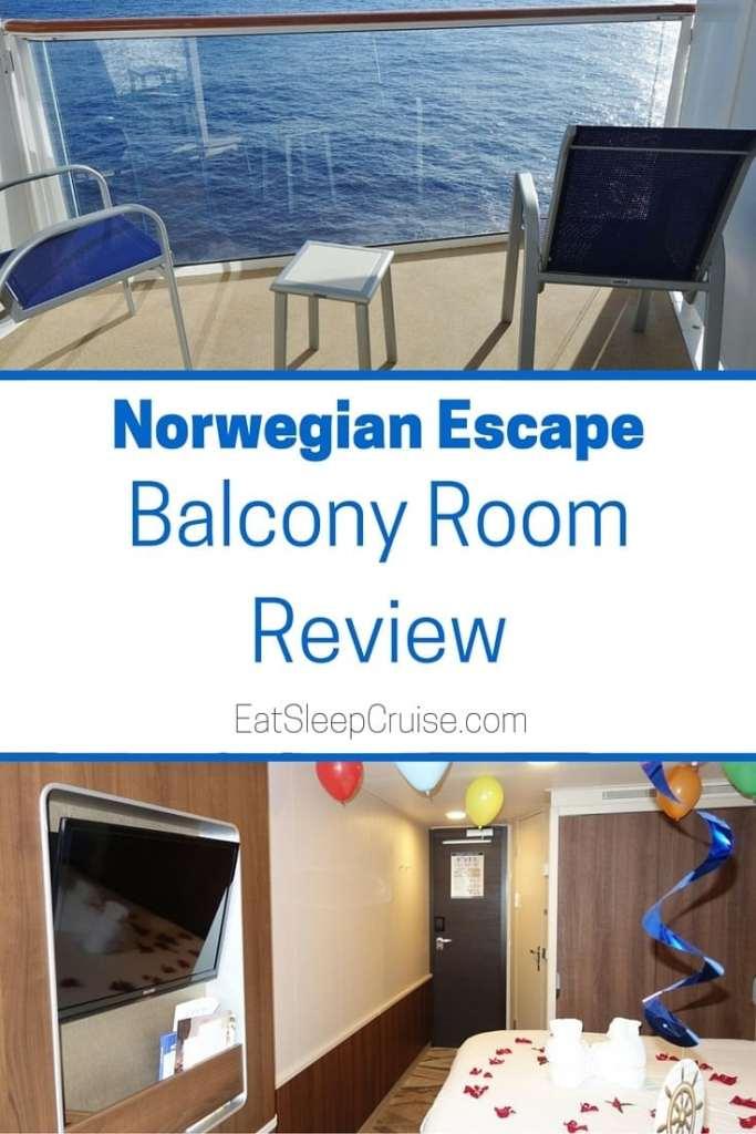 Norwegian Escape Balcony Room Photo Review