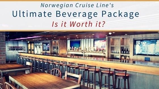 Norwegian Ultimate Beverage Package feature