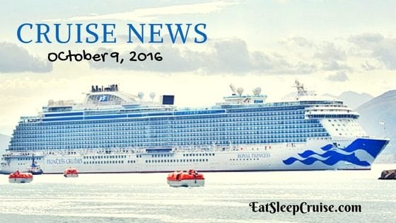 Cruise News October 9, 2016