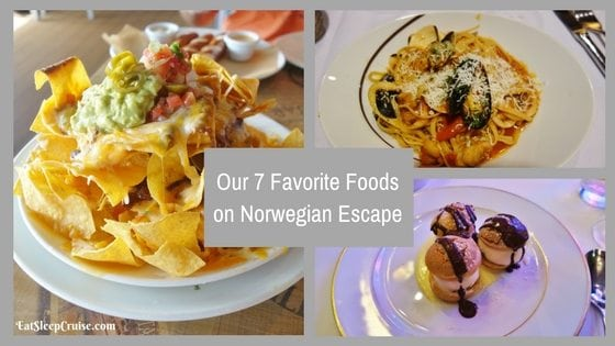 Our 7 Favorite Foods on Norwegian Escape