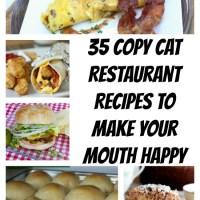 35 Copy Cat Restaurant Recipes