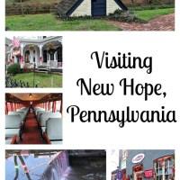 Visiting New Hope, PA