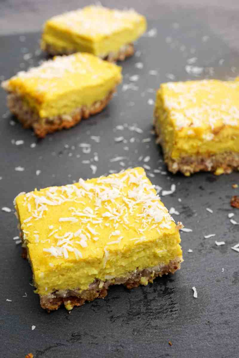 Healthy Paleo Lemon Bars