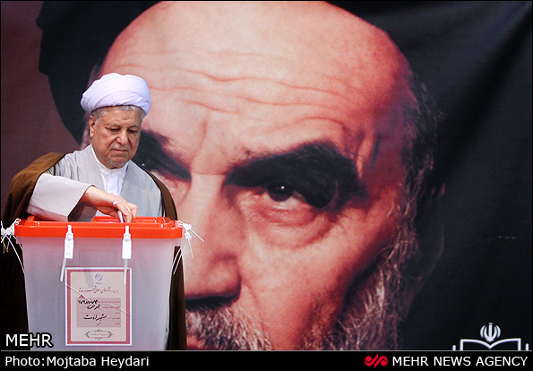 rafsanjani votes 2013