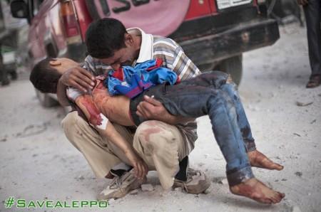 ALEPPO MAN DEAD CHILD