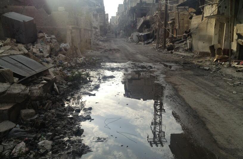 Kutyasors Szíriában