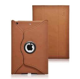 Ionic Rotating Stand Leather Case for New Apple iPad Mini