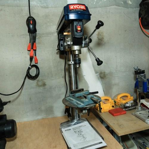 Medium Crop Of Ryobi Drill Press