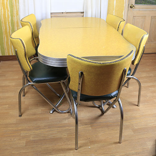 mid century modern kitchen table and chairs mid century kitchen chairs Mid Century Modern Kitchen Table and Chairs