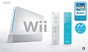 Wii本体 (シロ) Wiiリモコンプラス2個、Wiiスポーツリゾート同梱 / 任天堂