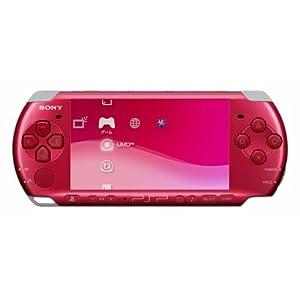 PSP「プレイステーション・ポータブル」 ラディアント・レッド(PSP-3000RR)