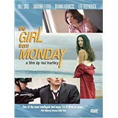 The Girl Fom Monday DVD