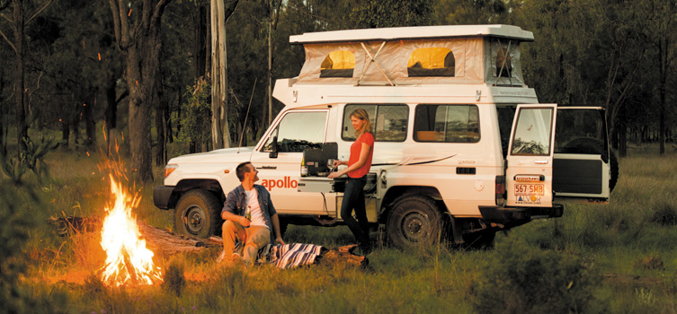 Apollo trailfinder 4wd campervan australia