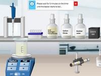 Online chemistry lab