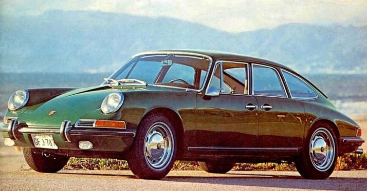 Four-Door Porsche 911