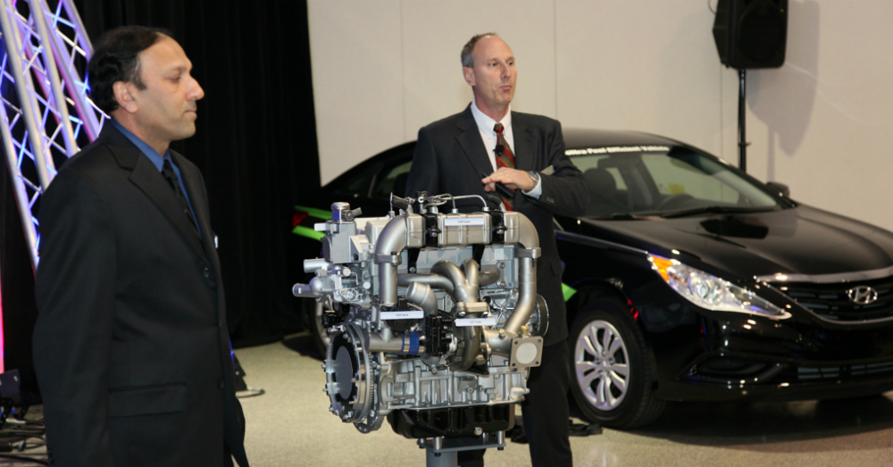 Hyundai and Delphi Combustion Engine