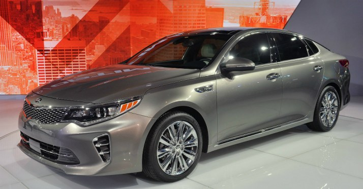 2016 Silver KIA Optima
