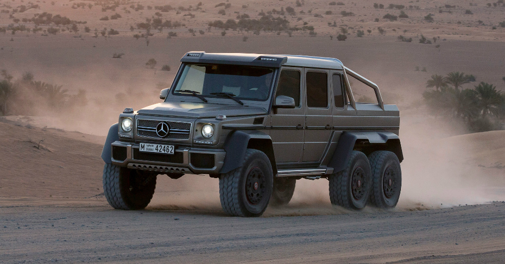 01.12.16 - 2013 Mercedes-Benz G63 AMG 6x6 - 2