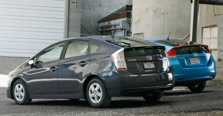 Prius vs Honda Insight