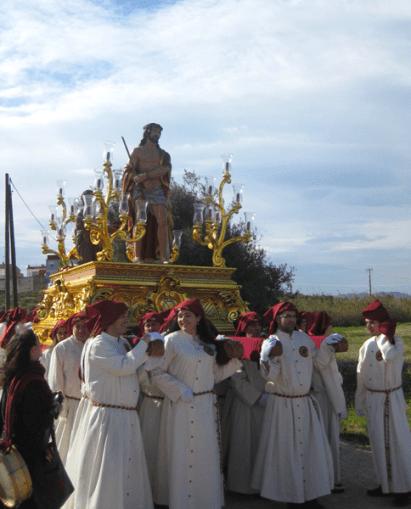 Viernes Santo. Camino de las Columnas
