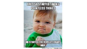 Revolutionary War  Create a Meme  by Georgia Studies   TpT Revolutionary War  Create a Meme
