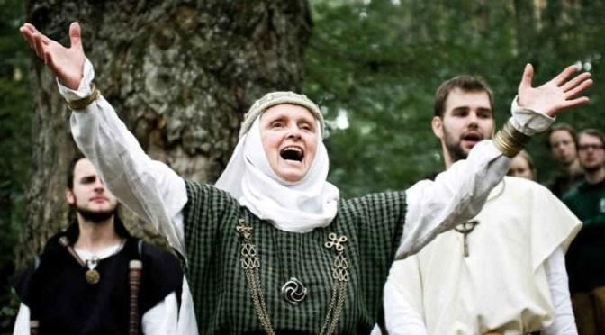 Lithuania Romuvos KRIVA elected Inija Trinkūnienė