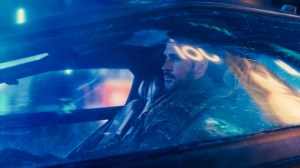 Photo of Ryan Gosling in car.
