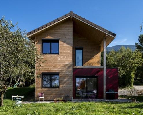prêt à construire/maison bbc ossature bois